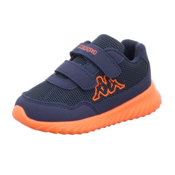 KAPPA Jungen-Slipper-Kletter Cracker II BC Kids Blau-Orange