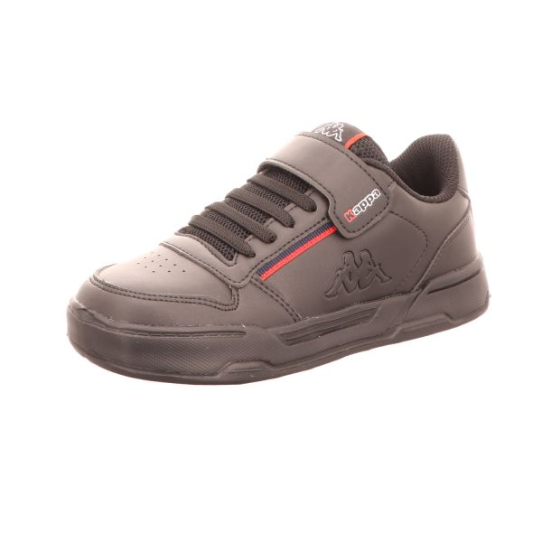 KAPPA Jungen-Slipper-Kletter-Sneaker Marabu II Kids Schwarz