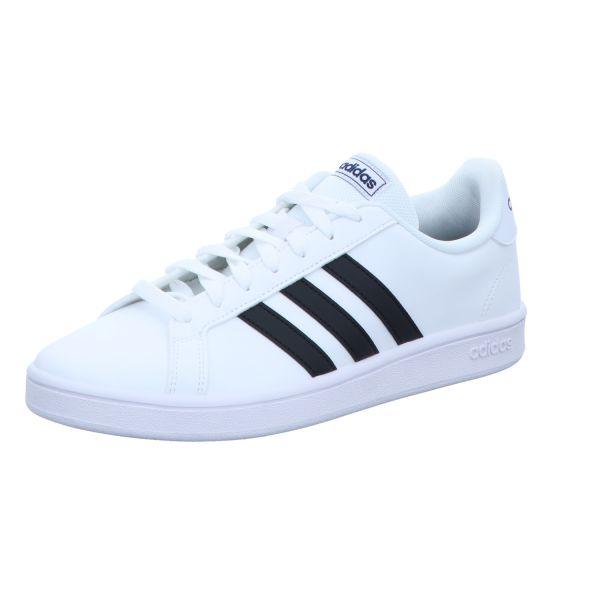adidas Herren-Sneaker Grand Court Base Weiß