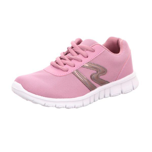 Sneakers Mädchen-Schnürhalbschuh Pink