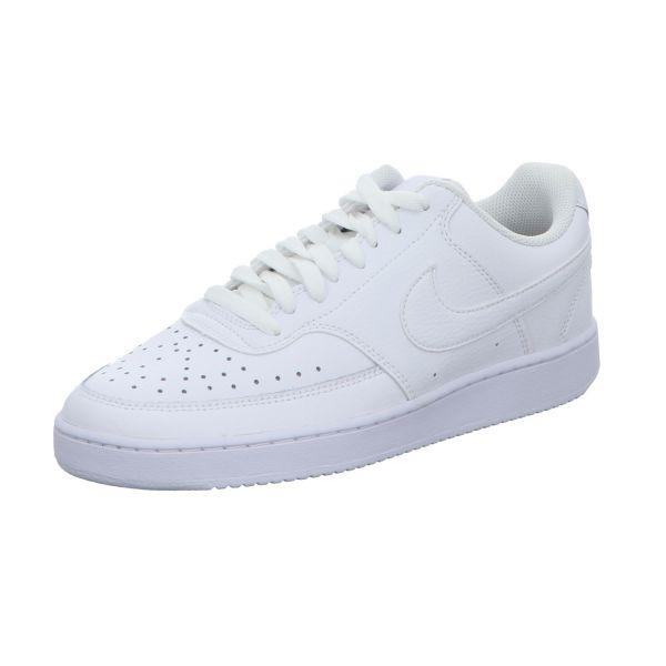 Nike Herren-Sneaker Court Vision Low Weiß