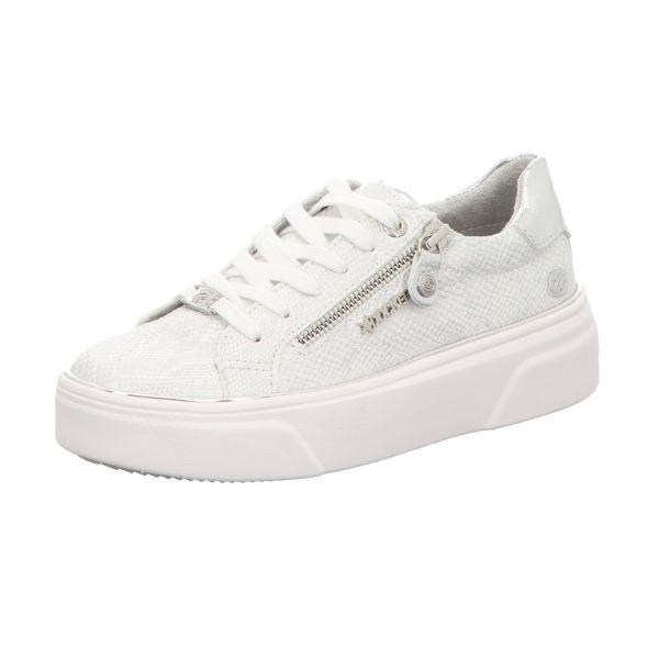 Dockers Damen-Sneaker-Schnürhalbschuh Weiß
