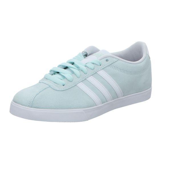 Adidas Damen-Sneaker Courtset Grüß-Weiß