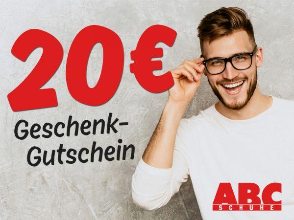 20 € ABC SCHUHE Gutschein