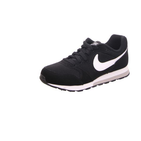 Nike Jungen-Schnürhalbschuh MD Runner 2 GS Schwarz
