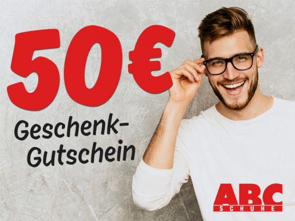 50 € ABC SCHUHE Gutschein