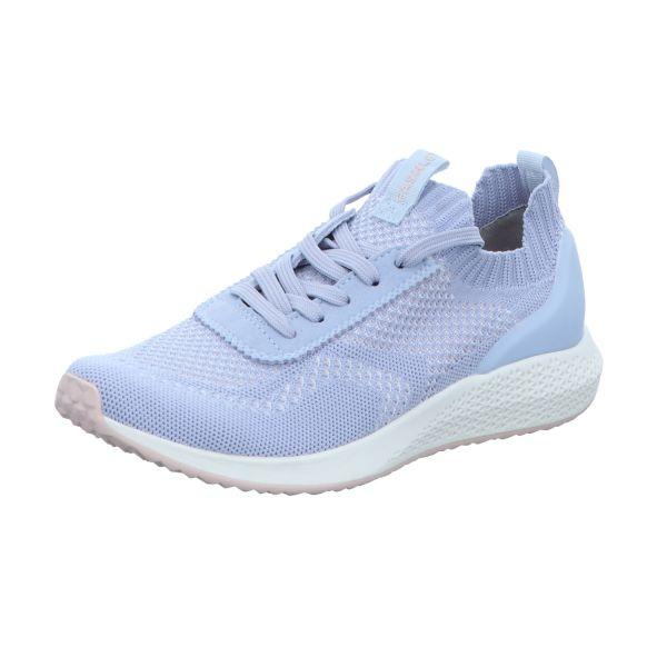 TAMARIS Damen-Sneaker-Slipper Blau