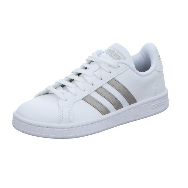 adidas Damen-Sneaker Grand Court Weiß