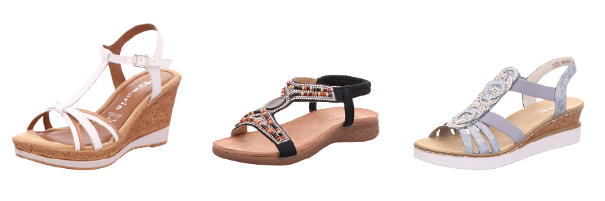 Sandaletten für Damen