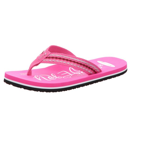 Sneakers Damen-Badepantolette Pink