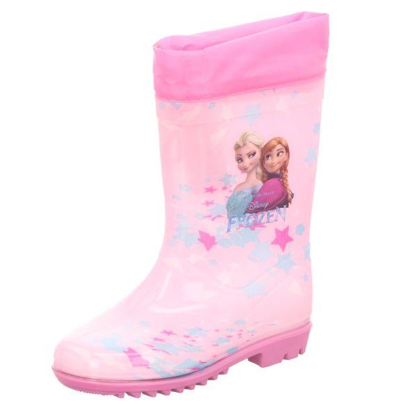Frozen Kinder-Gummistiefel Anna & Elsa Pink