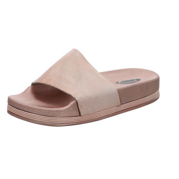 Sneakers Damen-Pantolette CL06-04-ROS Petrol
