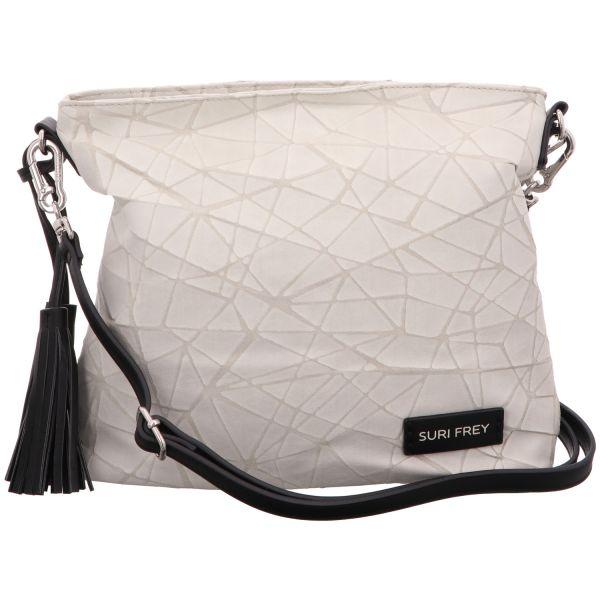 Suri Frey Damen-Überschlagtasche Kimmy Grau