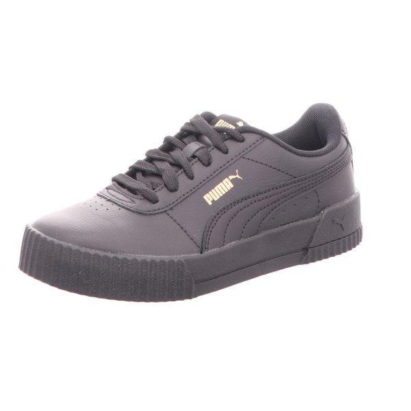Puma Damen-Sneaker Carina L Schwarz-Gold