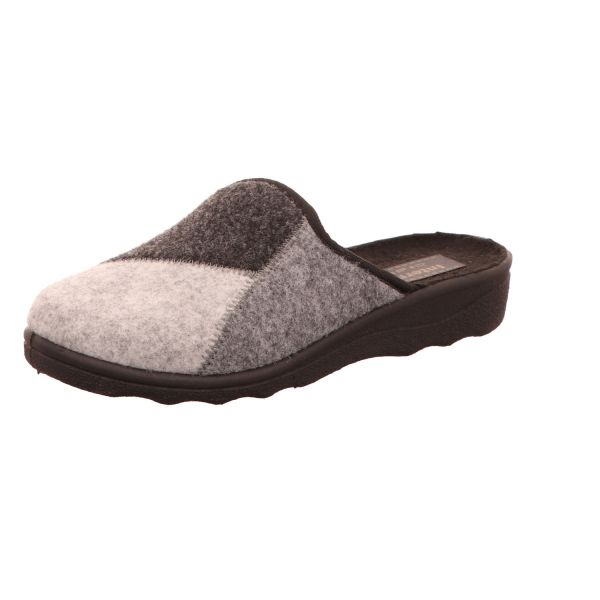 Intermaxx Damen-Pantoffel Grau