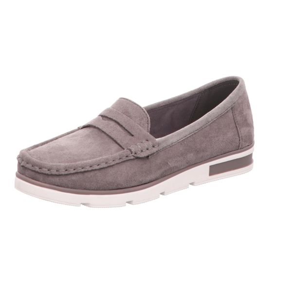 Alyssa Damen-Slipper-Slip-On Grau