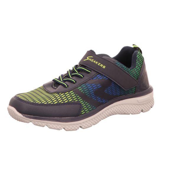 Sneakers Jungen-Slipper-Kletter-Sneaker Neon-Blau