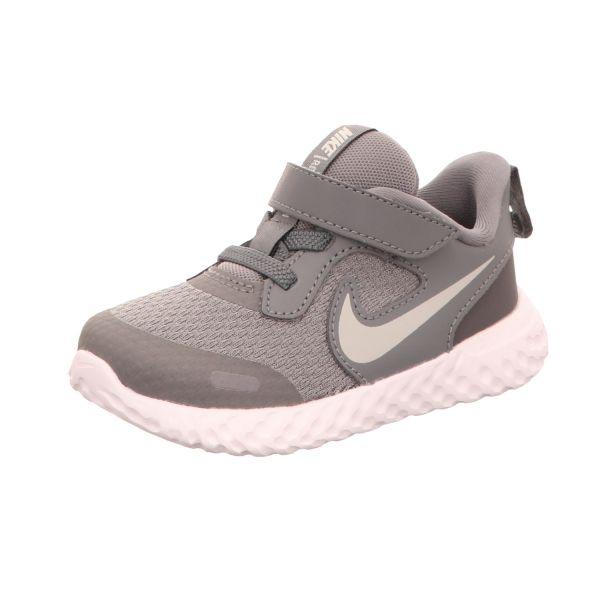 Nike Mädchen-Slipper-Kletter -Sneaker Revolution 5 Grau
