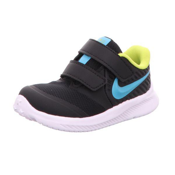Nike Jungen-Slipper-Kletter-Sneaker Star Runner 2 Schwarz