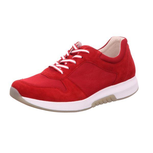 Gabor Comfort Damen-Schnürhalbschuh Rot
