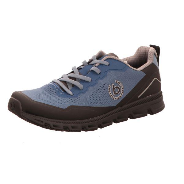 Bugatti Herren-Sneaker Radon Blau-Schwarz