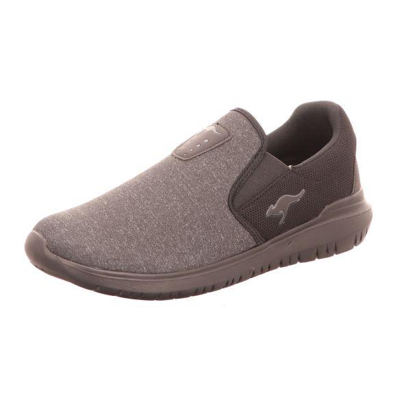 KangaROOS Herren-Sneaker Grau-Schwarz