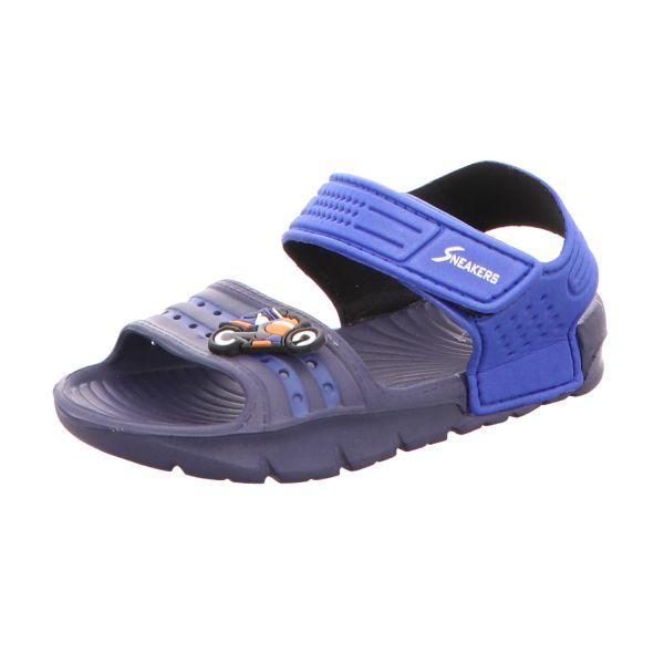 Sneakers Jungen-Sandalette Navy-Blau