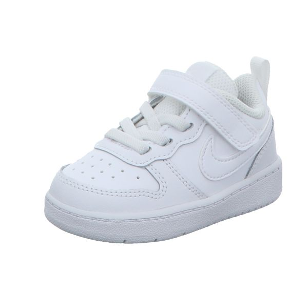 Nike Jungen-Slipper-Kletter Court Borough Low 2 Weiß