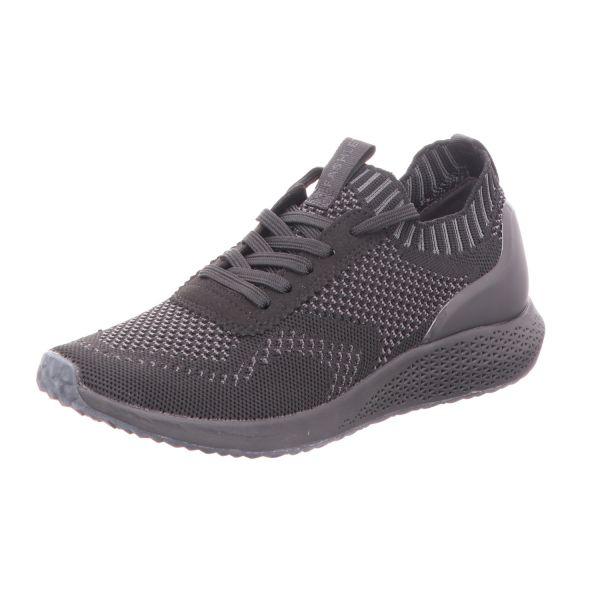 TAMARIS Damen-Sneaker-Slipper Schwarz-Grau