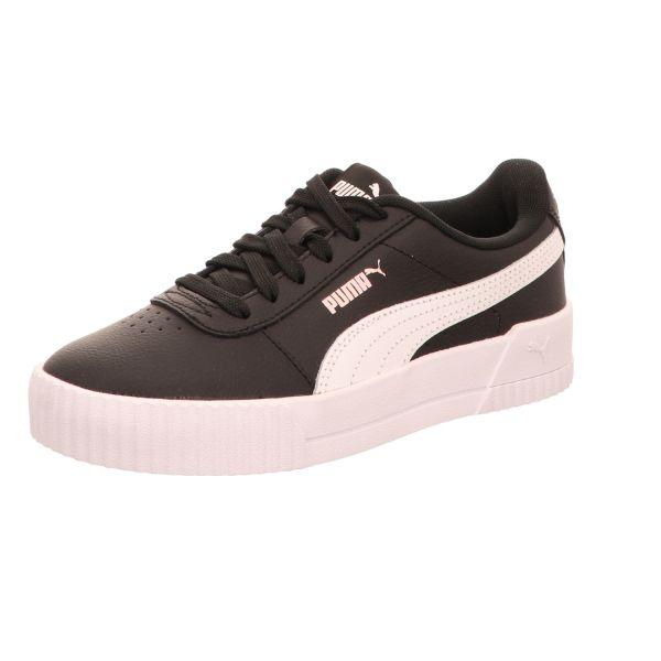 Puma Mädchen-Sneaker Carina L Jr Schwarz