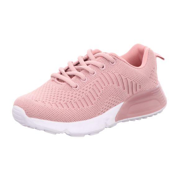 Sneakers Mädchen-Sneaker-Schnürhalbschuh Pink
