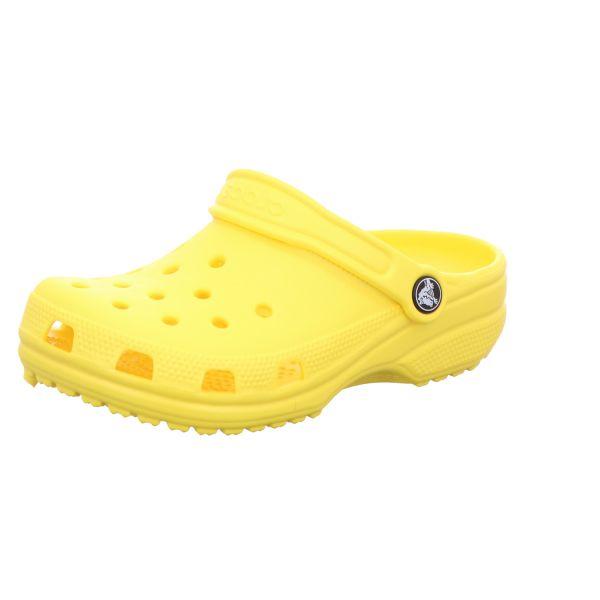 Crocs Kinder-Badeschuh Classic Clog K Gelb