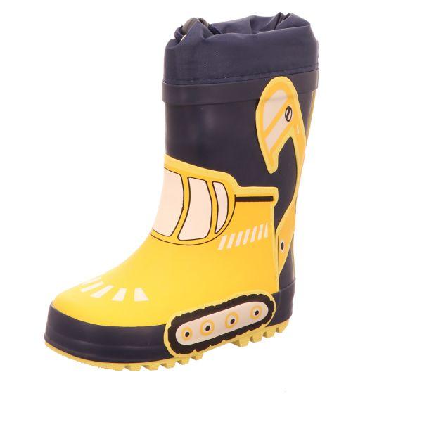 Sneakers Kinder-Gummistiefel Bagger Gelb