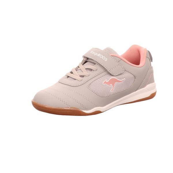 KangaROOS Kinder-Sneaker-Indoorschuh Grau