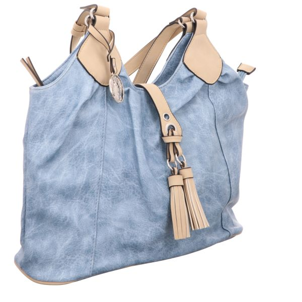 Jewels of Style Shopper Blau
