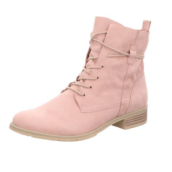 MARCO TOZZI Damen-Schnürstiefelette Pink
