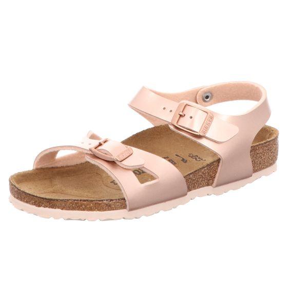 Birkenstock Mädchen-Sandalette Rio Kids Metallic-Pink