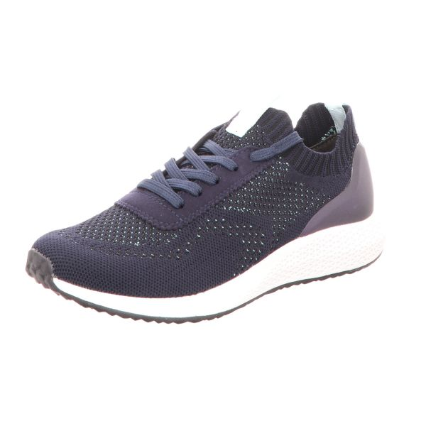 Tamaris Damen-Sneaker-Slipper Navy-Blau