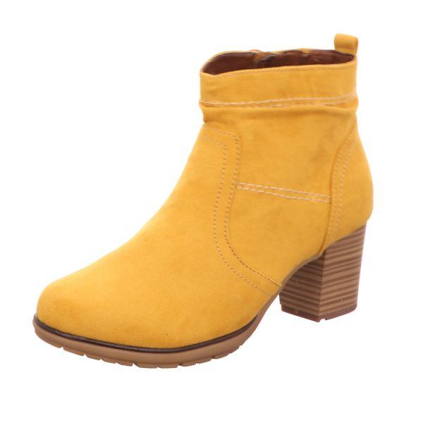 Scarbella Damen-Stiefelette Gelb