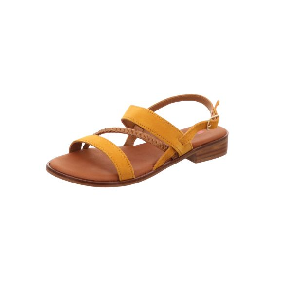 BOXX Damen-Sandalette Gelb