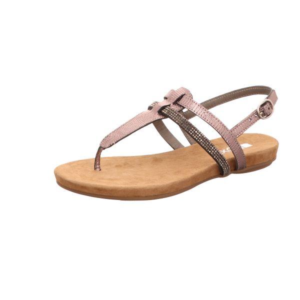 BOXX Damen-Sandalette Grau-Multi