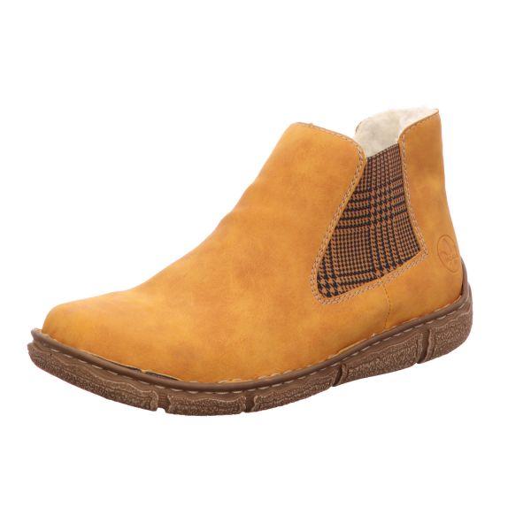 Rieker Damen-Boot Gelb
