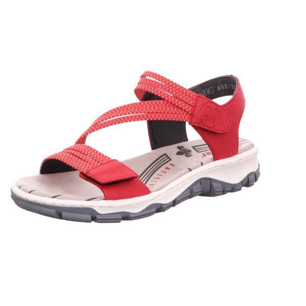 Rieker Damen-Sandalette Rot