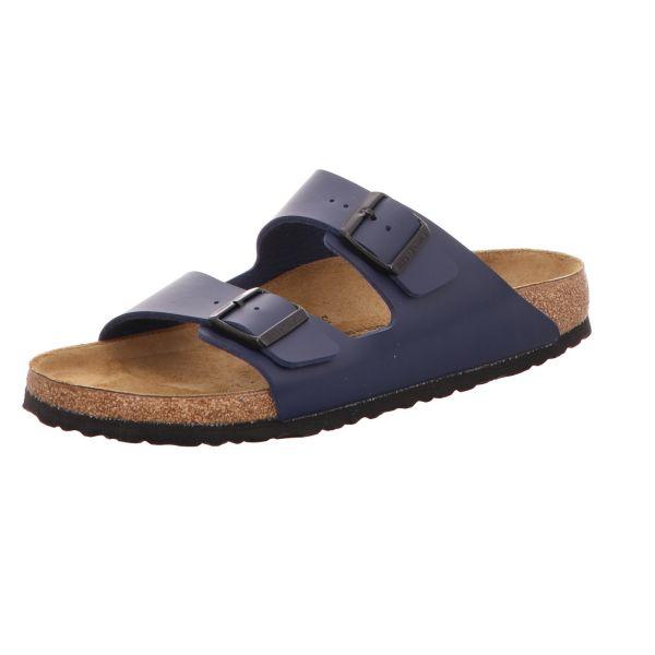 Birkenstock Herren-Pantolette mit Tieffußbett Arizona Blau