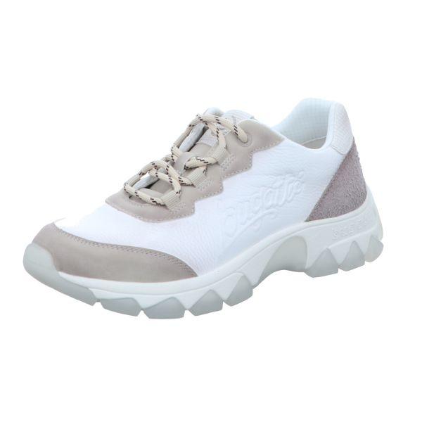 Bugatti Damen-Sneaker Yuki Beige-Weiß