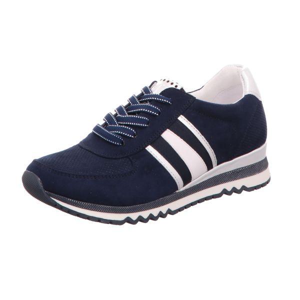 MARCO TOZZI Damen-Sneaker-Schnürhalbschuh Blau