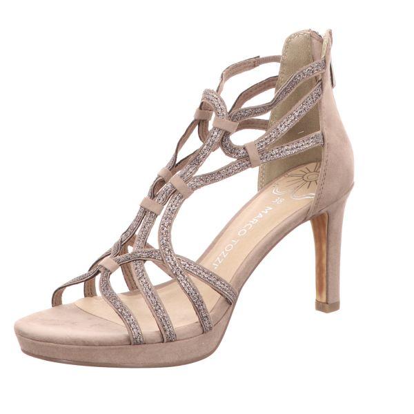 MARCO TOZZI Damen-Sandalette Beige