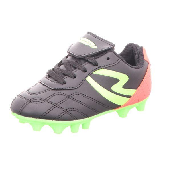 Sneakers Kinder-Fußballschuh Schwarz