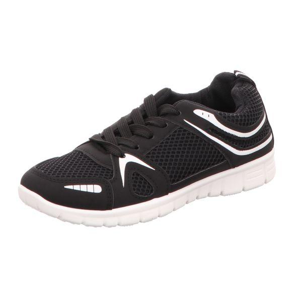 Sneakers Jungen-Sneaker Schwarz