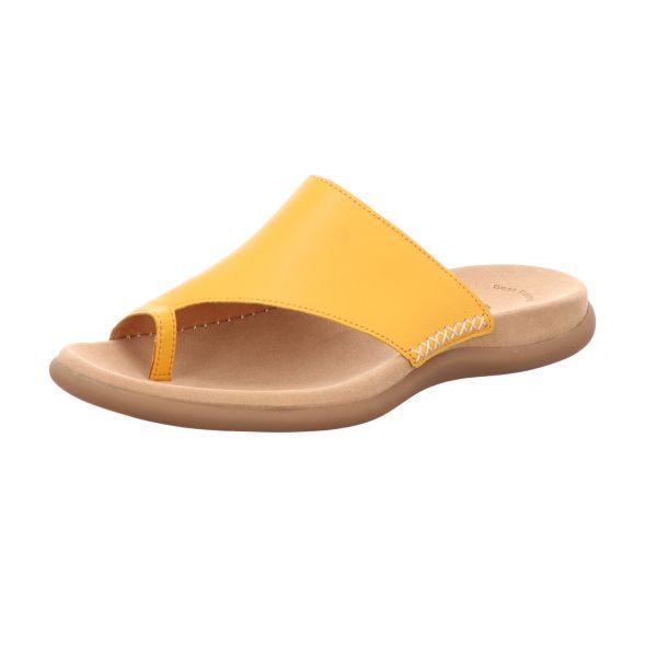 Gabor Damen-Pantolette Mango-Gelb